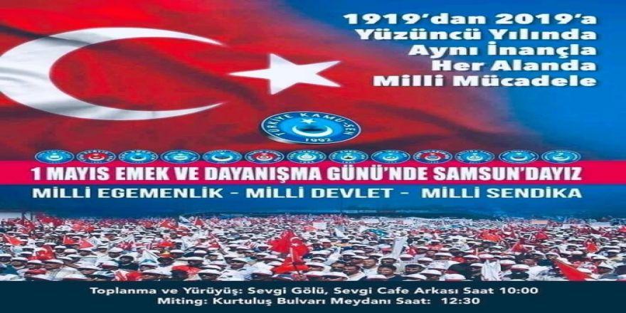 """""""1 Mayıs'ta Kamu Çalışanlarını Samsun'a Davet Ediyoruz"""""""