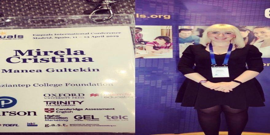 Gkv Eaquals Uluslararası Konferansı'nda