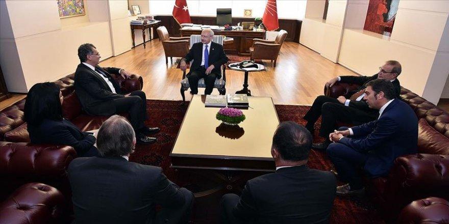 Kılıçdaroğlu, TÜSİAD heyetini kabul etti
