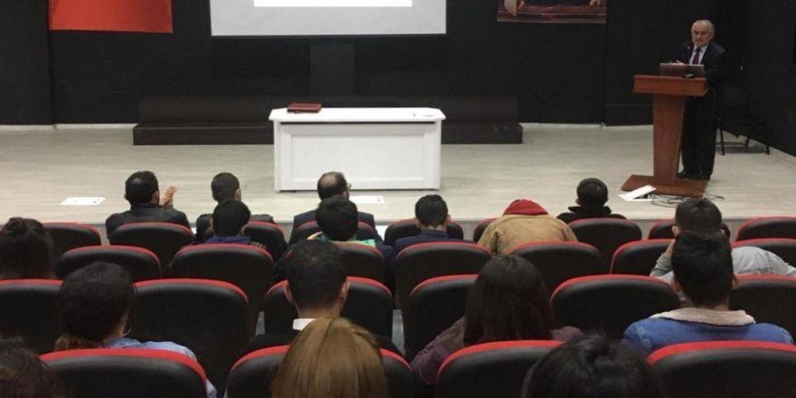 Domaniç Myo'da 'Tüketici Hakları Bilinci Ve İş Hayatında Haklar' Konulu Kdnferans