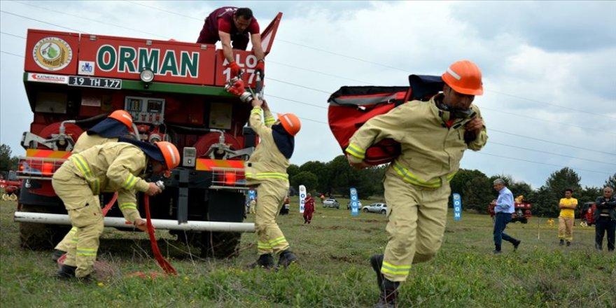 'Ateş avcıları' en hızlı olmak için yarıştı