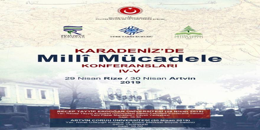 """Karadeniz'de Millî Mücadele"""" Konferansları Yeni Duraklarında"""