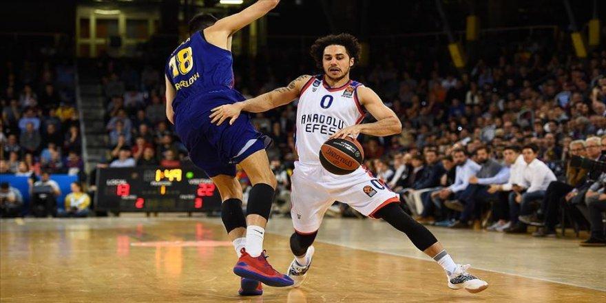 THY Avrupa Ligi'nde MVP Anadolu Efes'ten Larkin