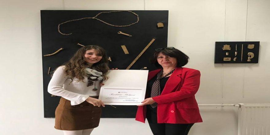 Saü'de Kişisel Asamblaj Sergisi Açıldı