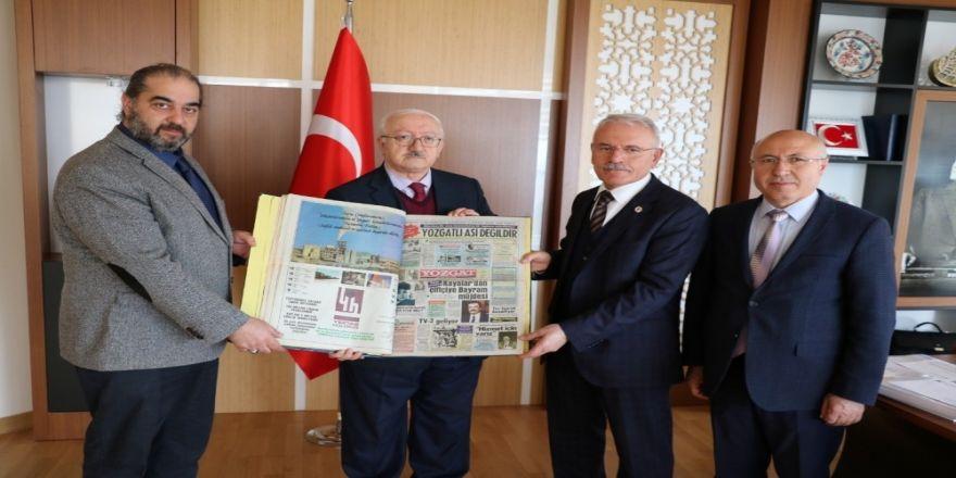 Yarım Asırlık Gazetenin Arsivi Bozok Üniversitesi Kütüphanesi'nde