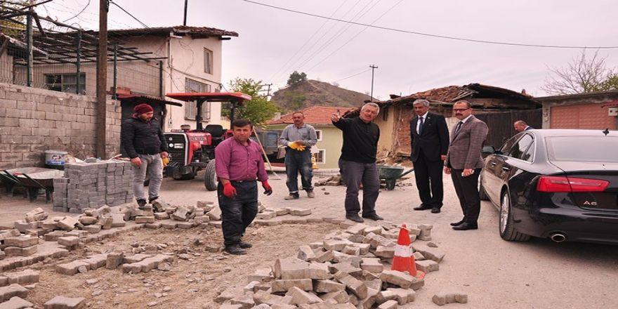 Tosya Belediyesi, Parke Ve Bordür Tamiratlarına Başladı