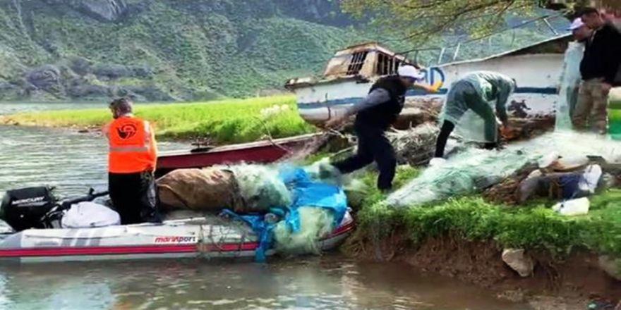 Atatürk Baraj Gölü'nde Kaçak Avcılık Denetimi Yapıldı
