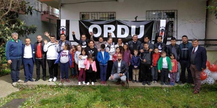 'Özel Çoçuklar'ın Beşiktaş Sevgisi