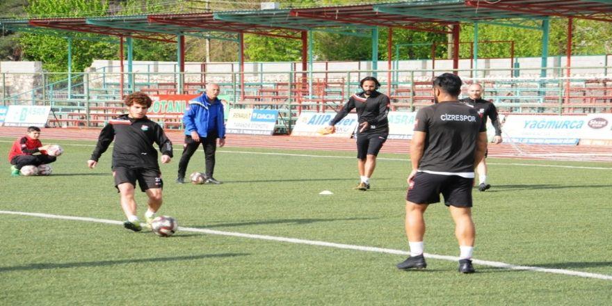 Cizrespor'da Anagold 24 Erzincanspor Maçı Hazırlıkları Sürüyor