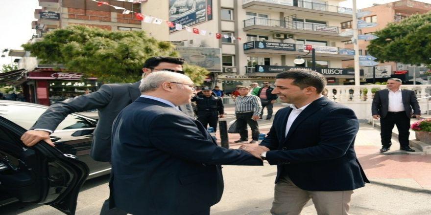 Vali Köşger, Kuşadası Belediye Başkanı Günel'i Ziyaret Etti