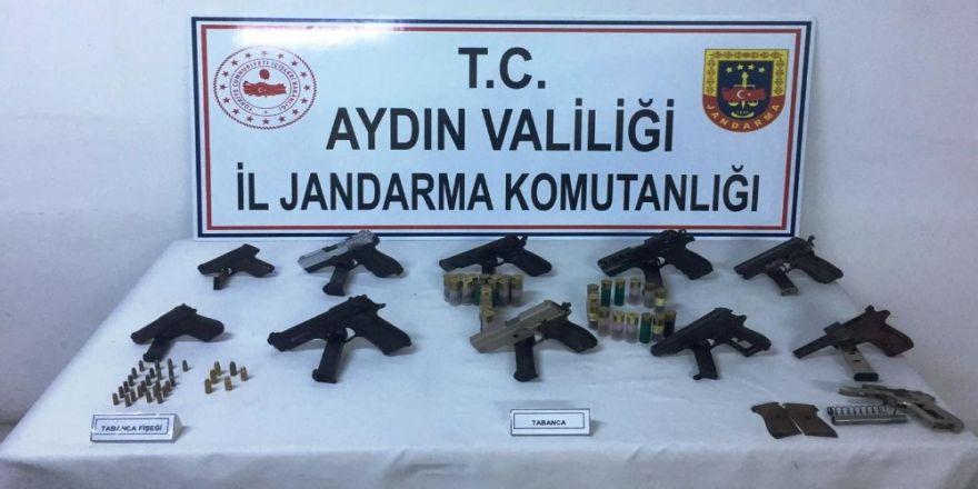 Jandarmadan Söke'de Uyuşturucu Ve Silah Kaçakçılığı Operasyonu