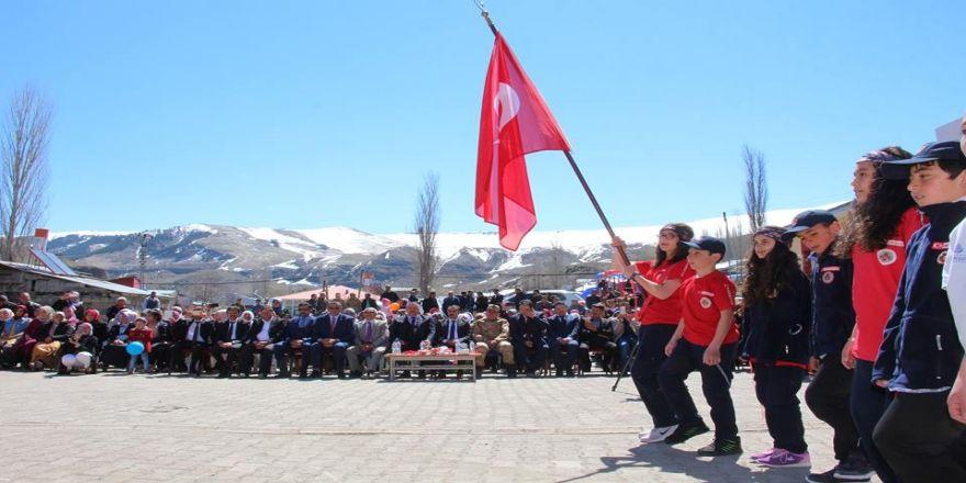 Gaziler Köyü'nde Coşkulu 23 Nisan Kutlaması