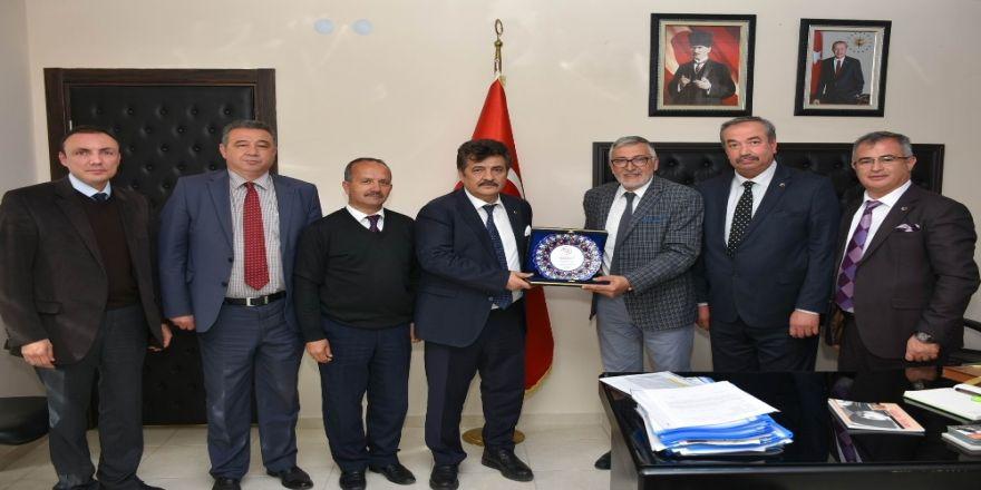 Oda Başkanlarından Başkan Bozkurt'a Ziyaret