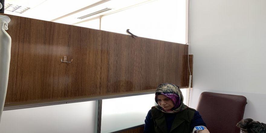 Kahta Devlet Hastanesi Kırlangıçların Yuvası Oldu