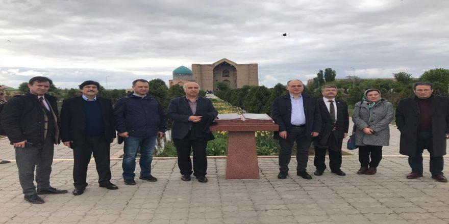 Beü Rektörü Yardım Üniversiteler Birliği'nin 4. Genel Kurul Toplantısı'na Katıldı