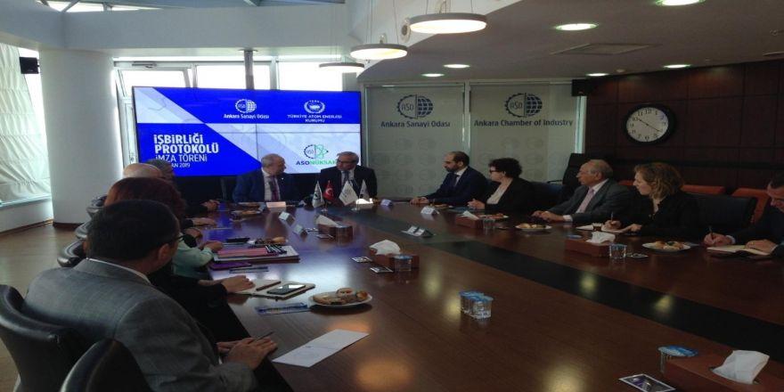 Sanayicilerin Nükleer Kabiliyetlerini Geliştirmek İçin Aso Ve Taek'ten Protokol