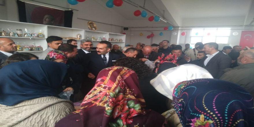 Bala'da Kadınlar Ürünlerini Kurdukları Kooperatifte Değerlendiriyor