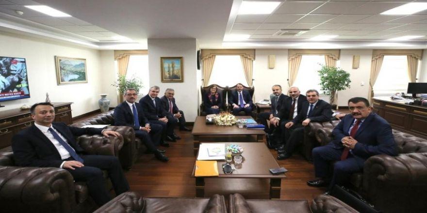 Şahin, Ankara'da Yoğun Görüşmelere Katıldı