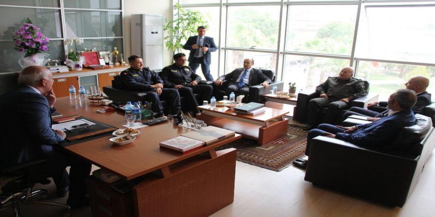 Söke Kaymakamı Tahsin Kurtbeyoğlu'ndan Başkan Tuncel'e Ziyaret