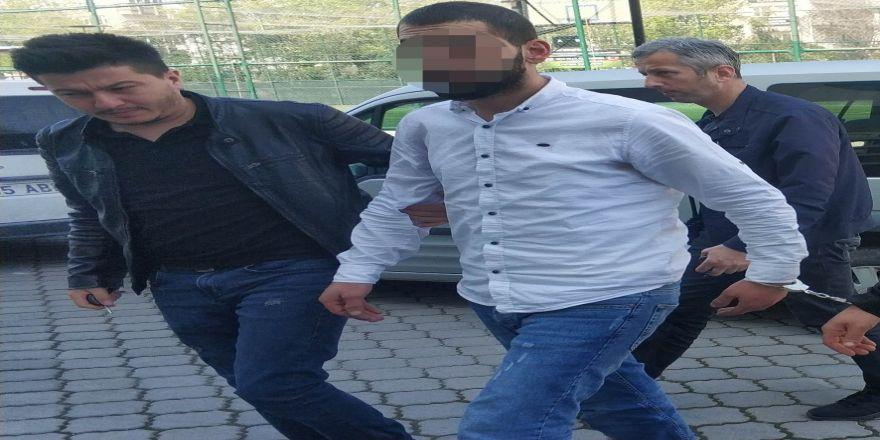 Kamyondan Akü Hırsızlığına Gözaltı