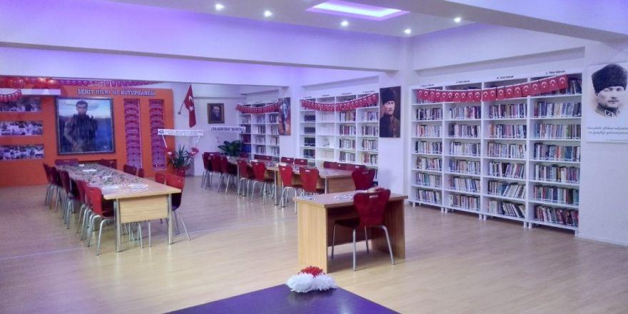 Şehit Astsubay Öz Adına Kütüphane Kuruldu