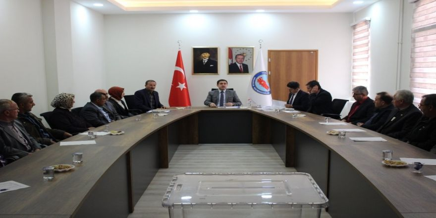 Hisarcık Köylere Hizmet Götürme Birliğinin Olağan Genel Kurul Toplantısı