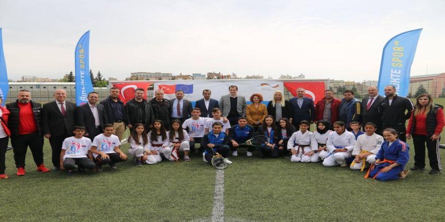 """""""Kilis Spor Günleri"""" Etkinlikleri Başladı"""