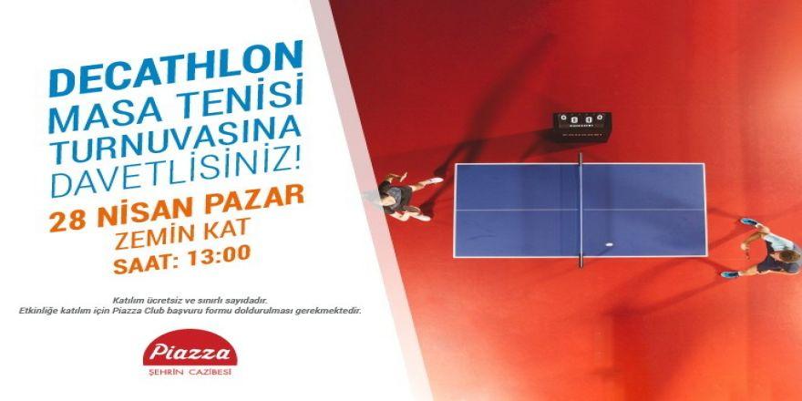 Samsun'da Masa Tenisi Turnuvası