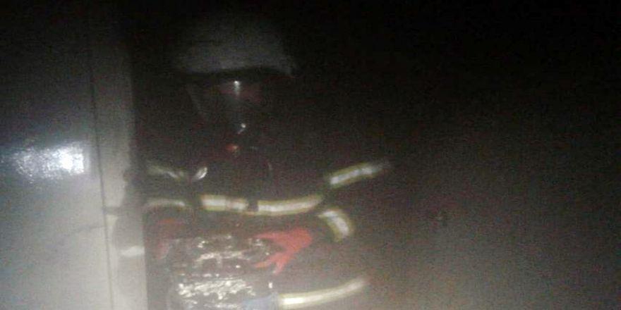 Şanlıurfa'da Mobilya Mağazasında Çıkan Yangın Korkuttu