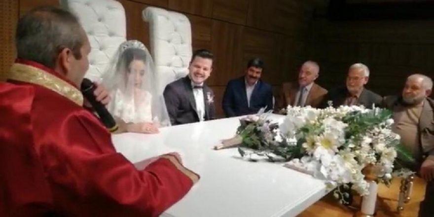 Anka ailesi bu nikahta buluştu