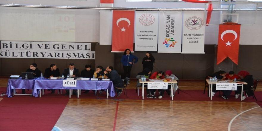 Öğrenciler bilgi yarışmasında ter döktü