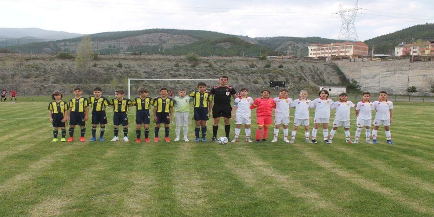 U11 Ligi Tosya Pirinç Kupası ilk gün maçları oynandı