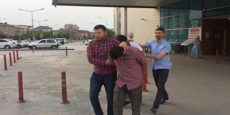 600 adet uyuşturucu hap ele geçirildi, 2 kişi tutuklandı