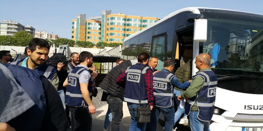 Bursa'daki Fuhuş Operasyonunda 7 Tutuklama