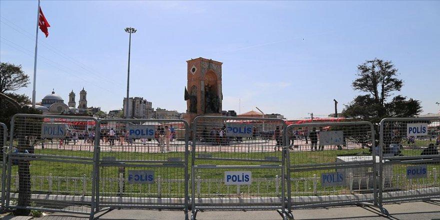 Taksim Meydanı'nda 1 Mayıs önlemleri