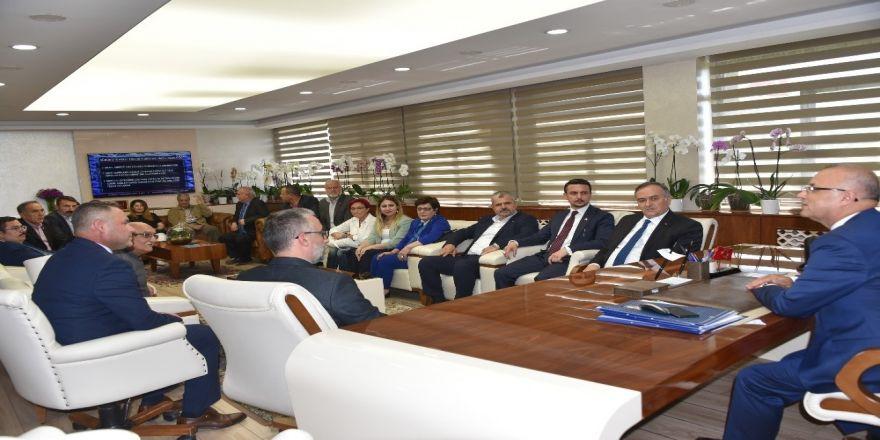 Mhp'li Akçay'dan Başkan Kayda'ya 'Hayırlı Olsun' Ziyareti