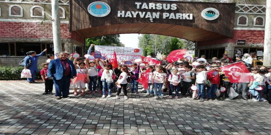 Dezavantajlı Çocuklar Tarsus Hayvanat Bahçesini Gezdi