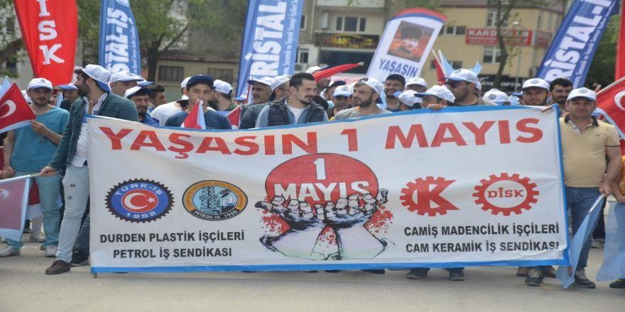 Bilecik'te 1 Mayıs kutlamaları