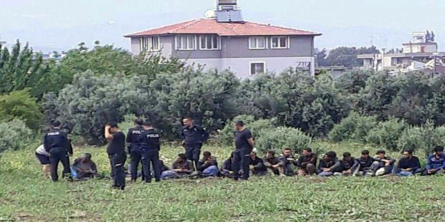 26 Kaçak Göçmen Yakalandı