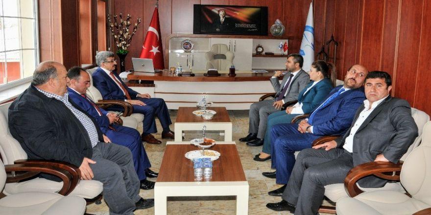 Vali Bilmez'den Başkan Say'a 'Hayırlı Olsun' Ziyareti