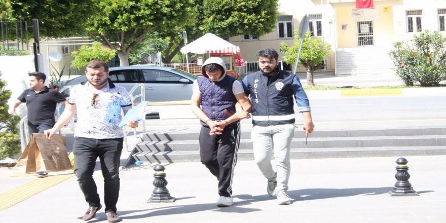 Manavgat'ta İki Hırsızlık Olayının Şüphelisi Tutuklandı
