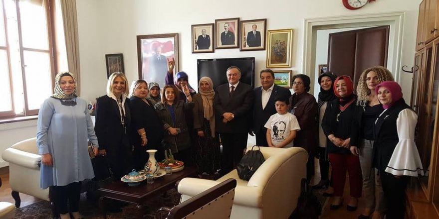 Mhp Kadın Kolları'ndan Ankara'ya Çıkarma