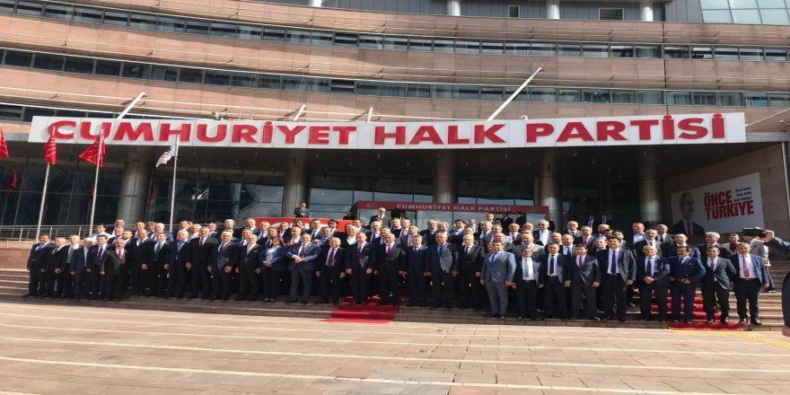 Günel, CHP'li Belediye Başkanları toplantısına katıldı
