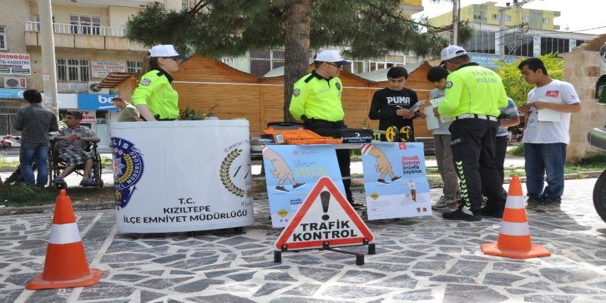 Kızıltepe'de Trafik Haftası Etkinliği