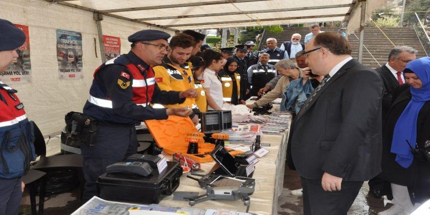 Afyonkarahisar'da Trafik Haftası Sergisi Açıldı
