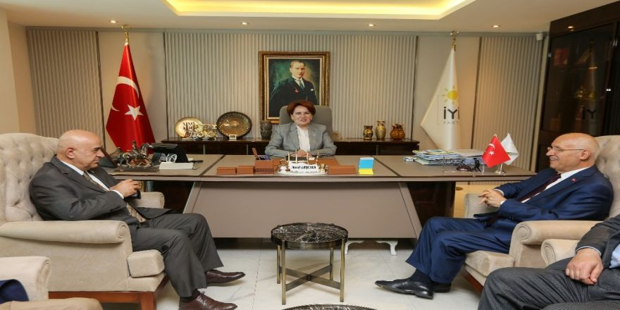 Fethi Yaşar'dan Akşener'e teşekkür ziyareti