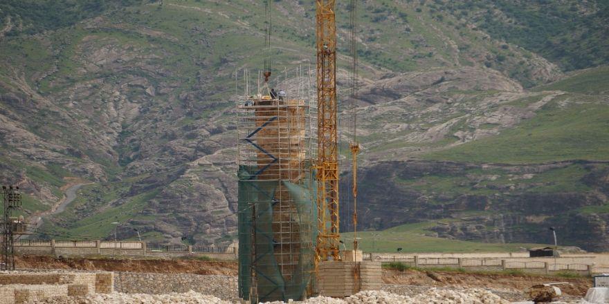 650 yıllık Koç Camii yeni yerine yerleştiriliyor