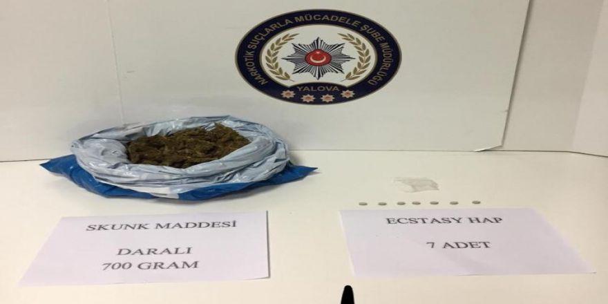 Yalova Polisinden Uyuşturucu Operasyonu