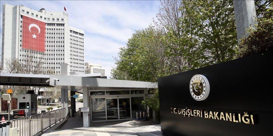 Fransa'nın sondaj açıklamasına Türkiye'den tepki