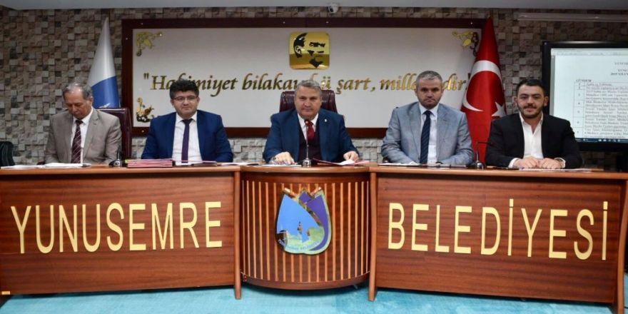 Yunusemre Meclis Üyeleri Toplantının Ardından İftar Yaptı